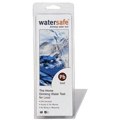 Water Test Kit | Watersafe Lead Testing Kit Watersafe will tell your within 10 minutes if lead is contained in your water supply. Can detect lead even at the most tiny levels.