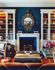 DREAMY LIBRARIES | Mark D. Sikes: Chic People, Glamorous Places, Stylish Things