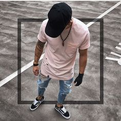 Vans Outfit Men, Mode Dope, Best Casual Shirts, Men Street Look, Moda Men, Dope Outfits For Guys, Latest Mens Wear, Mens Clothing Styles, Stylish Men