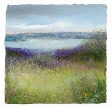 Amanda Hoskin - Looking Towards Falmouth from a peaceful Field, Flushing- BTW London