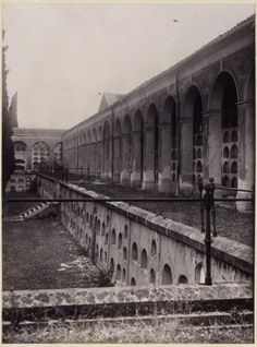 Cementerio de SAN MARTIN 1900. Actualmente el estadio Vallehermoso