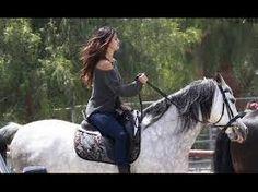 selena gomez on a horse