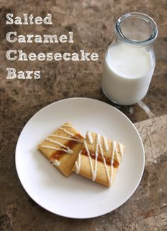 Salted Caramel Cheesecake Bars (and Publix Coupons Too!) #ad -