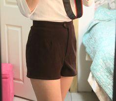 DIY High-waisted shorts
