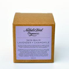 Nathalie Bond Organics   Bálsamo Lavanda & Camomila - Lavender & Chamomile Skin Balm   Tienda Online de Cosmética Natural
