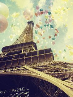 balloons in Paris