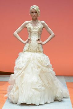 Ariel Inspired Gown - 2016 Disney's Fairy Tale Weddings by Alfred Angelo Wedding Dress Collection