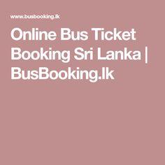 Online Bus Ticket Booking Sri Lanka   BusBooking.lk