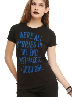 Doctor Who We're All Stories Girls T-Shirt | Hot Topic