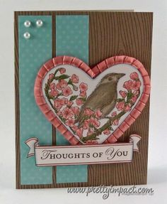 Heart Framelit with matching stamp  2012 Occasions Mini