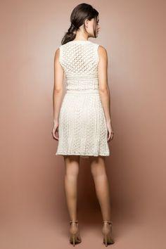 Off Venice Crochet Dress - Vanessa Montoro USA - vanessamontorolojausa