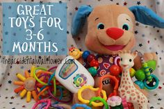 Great toys for 3-6 months