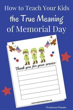 how to teach essay writing to your kids simple and meaningful ways to teach your kids the true meaning of memorial day to honor