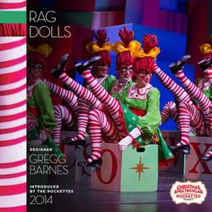 """Cheeks look familiar? These are the same red dots we wear in our """"Parade of the Wooden Soldiers"""" number! #ChristmasSpectacular"""