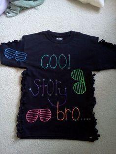 Puff Paint Shirts on Pinterest