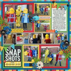 Cindy's single 126 - lots of snapshots 75 Build It by Erica Zane & Studio Flergs