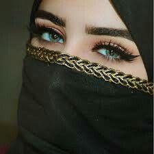 "elsabunnylarsson: ""Niqab is so beautiful ☪️💖 "" Arabian Makeup, Arabian Beauty, Arab Girls Hijab, Muslim Girls, Beautiful Muslim Women, Beautiful Hijab, Cute Girl Pic, Stylish Girl Pic, Gorgeous Eyes"