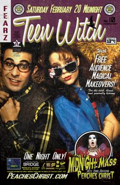 Teen Witch - Gotta get this classic on DVD. Teen Movies, Good Movies, Movie Tv, Awesome Movies, Hotel World, Teen Witch, Fantasy Films, Great Films, Photo Dump