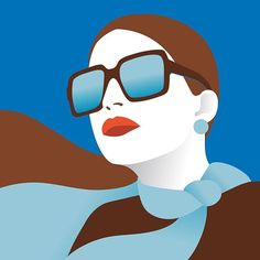 👉 #aquarius 💧♍️ New horoscope for @ LaRinascente, Italian department store. . . #illustration #larinascente #Italy #fashion #horoscope #horoscope2017 #zodiac #newyear #blue #sunglasses #scarf #vierge #colorful #digitalart #vectorart #vector #illustrissimo #picame #thedesigntip #illustree #designarf #bestvector #pirategraphic #yorokobu #illustrationartists #graphicroozane