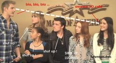 Guys...this is at MOA. I SAW THEM ALL AT MOA, AND WAS 5 FEET AWAY FROM JOSH HUTCHERSON AND JENNIFER LAWRENCE!!! ASDFGHJKL!!!!
