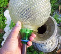 Garden Junk Ideas | home made solar gazing ball - Garden Junk Forum - GardenWeb