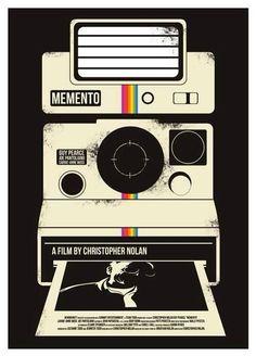 Alternative film poster - Memento by Cristopher Nolan