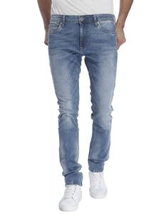 Buy HIZ & HERZ Mens Henry Relaxed Ripped Grey Jeans Online at ...
