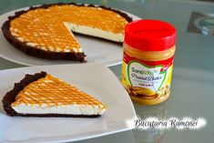 Tarta la rece cu crema de mascarpone si unt de arahide Pancakes, Breakfast, Food, Pies, Morning Coffee, Essen, Pancake, Meals, Yemek