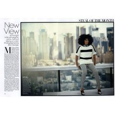 Vogue Editorial Vogue-New View, February 2013 Shot #1 found on Polyvore
