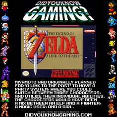 The Legend of Zelda: Link to the Past (extra characters?)
