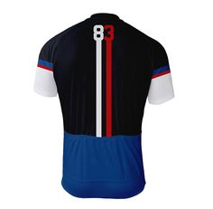83 Velo Men's Cycling Jersey - Back view -  http://www.cyclegarb.com/83-velo-mens-cycling-jersey.html