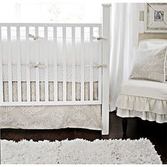 Khaki Moon Baby Bedding