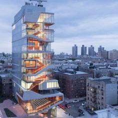 Vagelos Education Center : Columbia University, New York | Diller Scofidio + Renfro | Photo : Iwan Baan