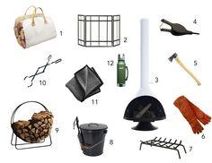 modern fireplace accessories