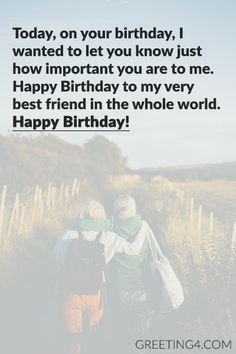 Short Birthday Wishes Messages For Best Friend - Celebrities Photos, Images, Wallpapers, Wishes Messages Friendship Birthday Wishes, Happy Birthday Best Friend Quotes, Happy Birthday Wishes For A Friend, Birthday Wish For Husband, Birthday Wishes For Boyfriend, Unique Birthday Wishes, Birthday Wishes Messages, Birthday Wishes Funny, Birthday Wishes Greetings