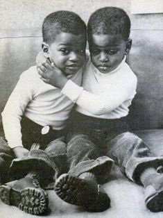 MY BROTHER'S KEEPER: Unidentified African American Boys, undated.