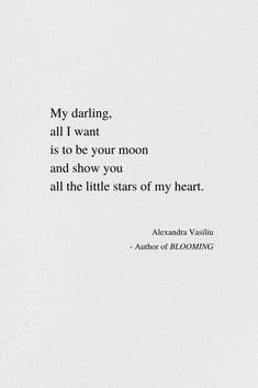 I Want To Be Your Moon | Alexandra Vasiliu