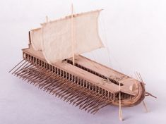 The Dusek Model Ship Kit Greek Trireme is a quality Dusek Model Boat Kit making for a great Wooden Model Ship Kit. Get Started on your Hobby today!