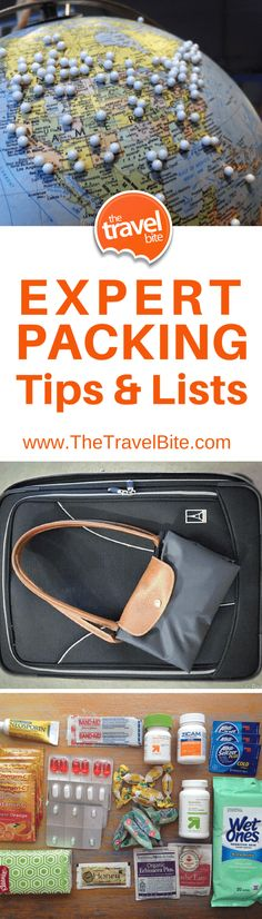 As a frequent traveler, I've got a few packing tips up my sleeve. From how to get through security fast, to packing wine, here are my most useful tips. ~ http://thetravelbite.com