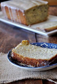 Lemon Poppy Seed Bread   www.mountainmamacooks.com