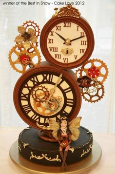 Edible Art. Time for cake - Steampunk Cake