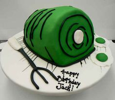Green Eggs and Ham Cake | 21 Delicious Treats For Dr. Seuss Fans