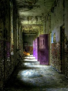 mystery – castle mystery – castle Related posts:Old Abandoned Mansions In Upstate New York (Old Abandoned Mansions In Upstate New York) desig.doors to nowhere. Abandoned Buildings, Abandoned Asylums, Old Buildings, Abandoned Places, Abandoned Castles, Foto Transfer, Purple Door, Haunted Places, Haunted Houses