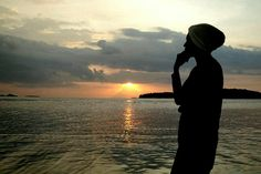 My Sunset From Gili Kedis