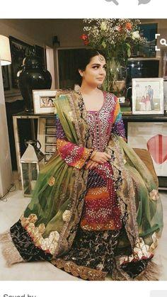 04282b4bdf653 Pakistani Bridal Dresses, Pakistani Couture, Punjabi Wedding, Desi Wedding,  Bridal Lehenga,