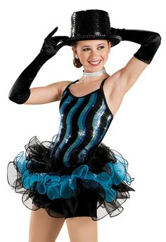 Wave Sequin Wired Tutu Dress -Weissman Costumes
