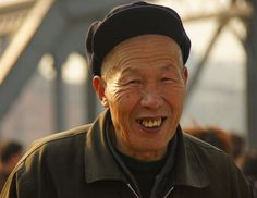 smiles from  China.