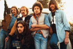 The Eagles. Don Felder, Bernie Leadon, Don Henley, Randy Meisner and Glenn Frey.