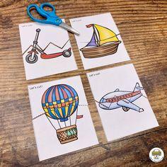 Transportation Activity Pack - Pre-K Printable Fun