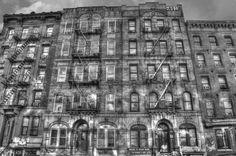 Led Zeppelin Physical Graffiti Building Print